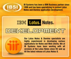 Lotus Notes and Domino design development and maintenance in Tampa, FL and the US